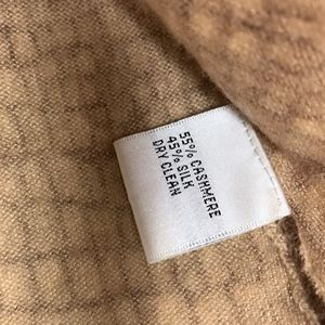 Talbots Sweaters - SOLD Snakeskin Cashmere Sweater Brown Talbots